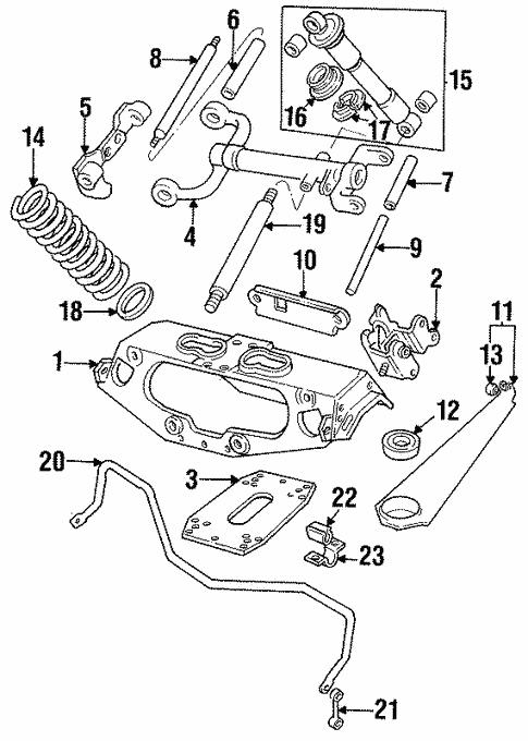 Rear Suspension For 1989 Jaguar Xjs