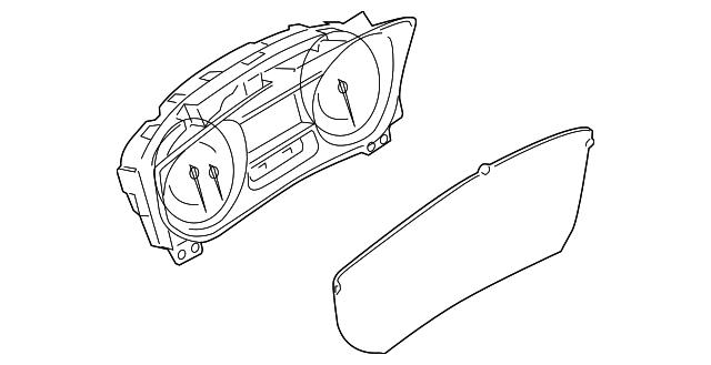 Genuine Ford Dash Control Unit GB5Z-19980-L