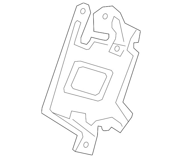 Bracket, Amplifier - Acura (39184-SZN-A00)