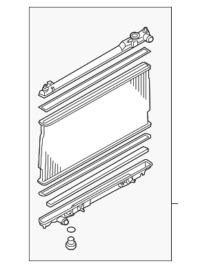 Radiator Assembly - Nissan (21410-EV00A)