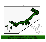 Trailer Hitch - Ford (KT4Z-19D520-AA)