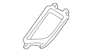 Fuse & Relay Box Gasket - Mercedes-Benz (202-545-05-80)