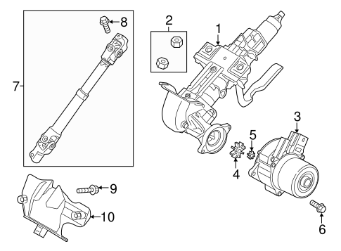 Mazda Steering Column Diagram