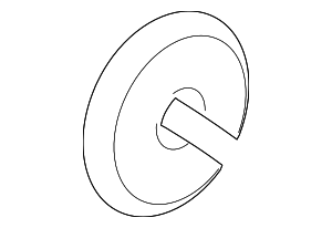 VW Rabbit Jetta Gti Convert Hood Release Cable Grommet