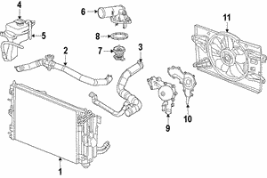 Thermostat Housing Seal - Mopar (4893377AA)