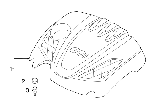 Engine Appearance Cover Parts