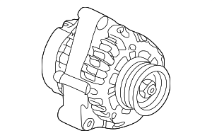 Alternator Assembly (Delphi) - Honda (31100-P8C-A02)