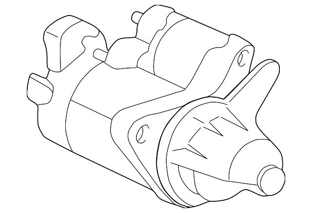Genuine Honda Starter 06312 Plm 505rm