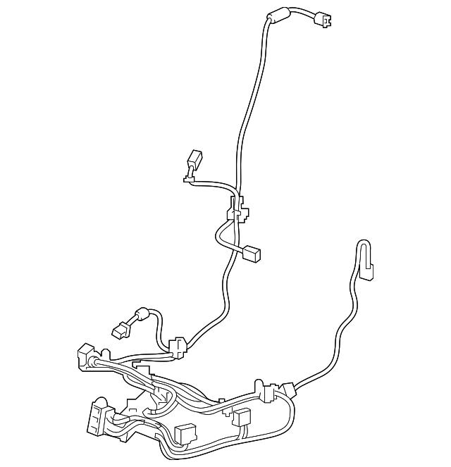 2019-2020 Acura MDX 5-DOOR Cord, L Power Seat (8-Way