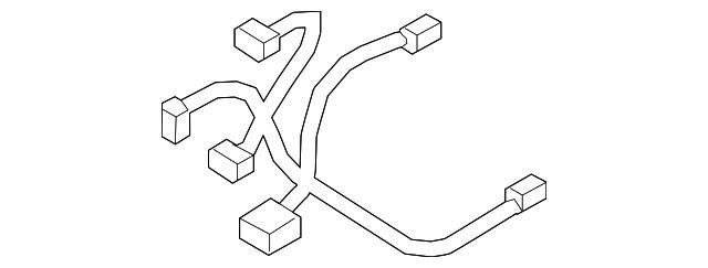 hyundai wire harness  88640