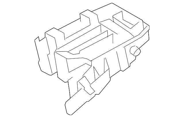 genuine toyota fuse  u0026 relay box 82741