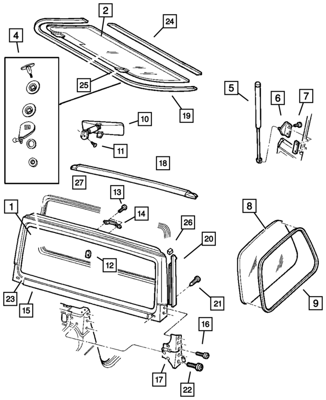Mopar Cross Member 52058121ab furthermore Centric 10604770 Disc Brake Pad further 82213656AC moreover Mopar Hardware Package Door Hinge Door Half 55176368 furthermore Centric 30604770 Disc Brake Pad. on wrangler anniversary edition
