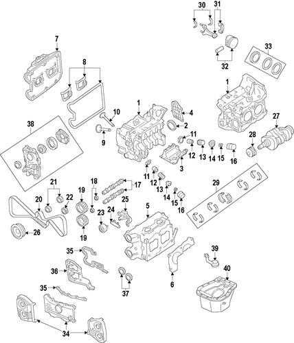 engine for 2008 subaru impreza