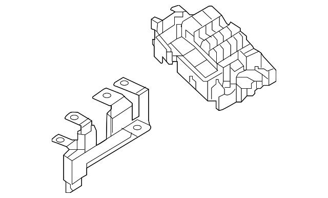 2011 2018 volkswagen fuse relay box 5c0 937 819 q. Black Bedroom Furniture Sets. Home Design Ideas