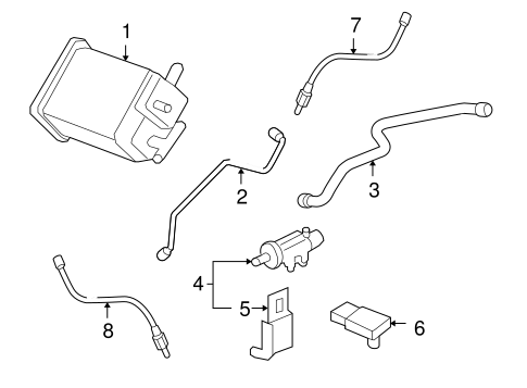 T5829728 Diagram firing order also 3 4 V 6 Vin E Firing Order together with Gm Oxygen Sensor 12615124 furthermore Car Exhaust Box likewise Overhead  ponents Sun Visor Bracket Rod C 3019 154 2082 2097. on 01 chevy monte carlo