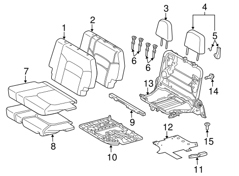 TOYOTA 71844-60090-C0 Seat Reclining Cover
