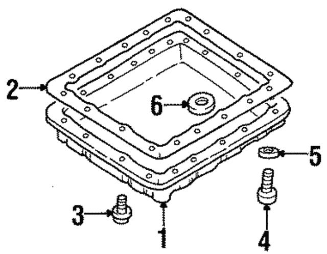 1993 2019 Nissan Drain Plug 31377 31x06