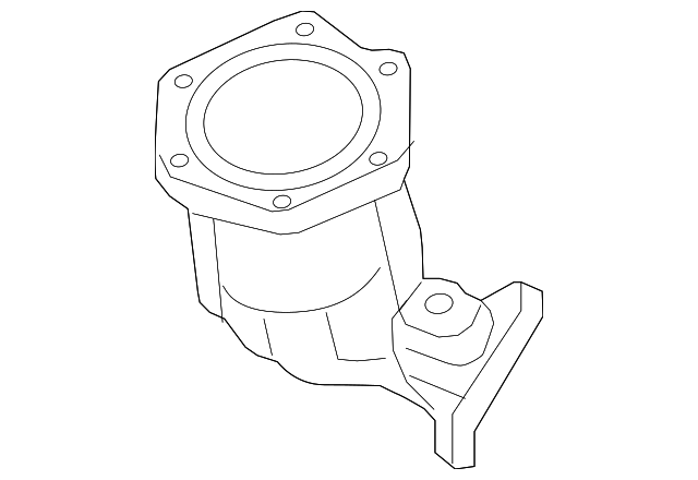 Genuine Nissan Catalytic Converter 208a3 3kf0a