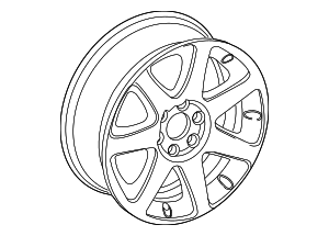 Wheel, Alloy - GM (22974278)