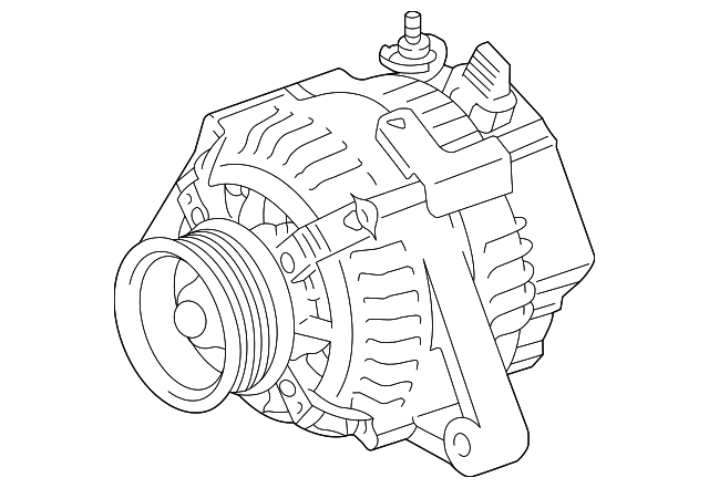 genuine toyota alternator 27060