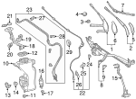 Wiper Blade - Mercedes-Benz (213-820-57-01)