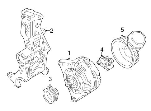 Alternator For 2000 Volkswagen Passat