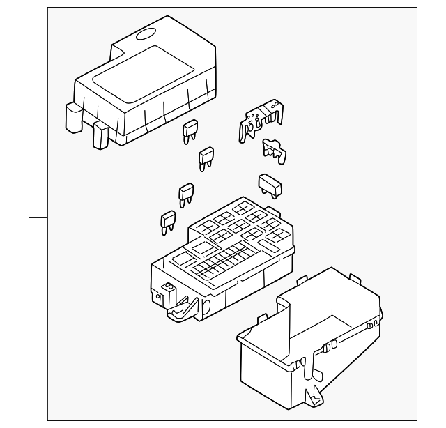 2004 kia rio cinco fuse box  kia  auto wiring diagram