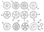 Wheel, Alloy - Mercedes-Benz (172-401-00-00-9765)