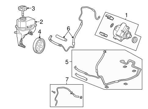7 3 power steering pump replacement steering boot