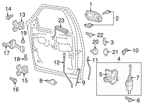 Rear Door For 2008 Lincoln Navigator Ford Parts Catalog