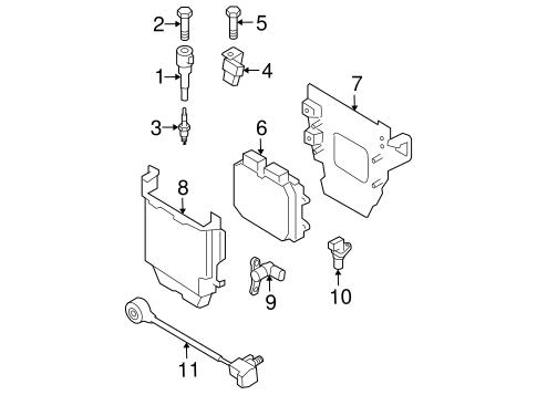 Genuine OEM Powertrain Control Parts For 2008 Mazda 3
