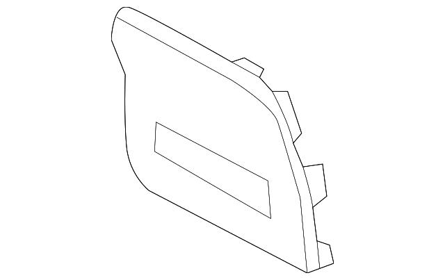 genuine kia fuse box cover 84753