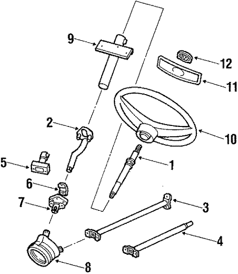 Vanagon Steering Diagram