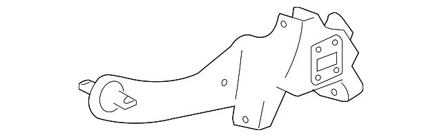 Genuine Ford Trailing Arm 9S4Z-5A968-A