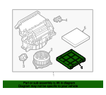 Filter Housing - Land-Rover (LR036370)