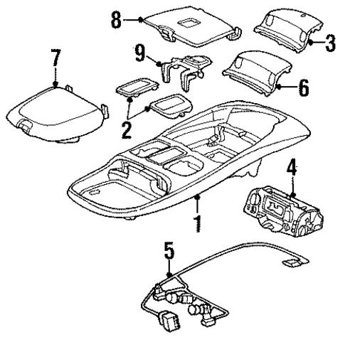 2014 Dodge Ram Center Console Wiring Diagram