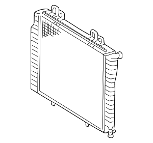 Radiator - Mercedes-Benz (210-500-66-03)