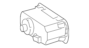 Headlamp Switch - Mercedes-Benz (171-545-11-04)
