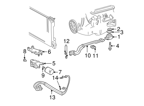 Porsche Underdrive Crank Pulley in addition Bumper And  ponents Rear Scat as well Cadillac Cts 2007 Engine Sensors in addition HOO2290 1 further . on 1997 camaro accessories