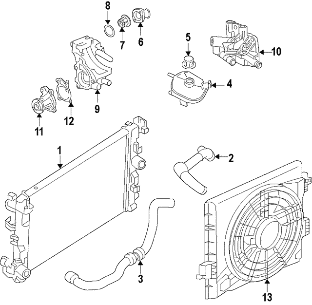 Thermostat - Nissan (21200-5RF3A)