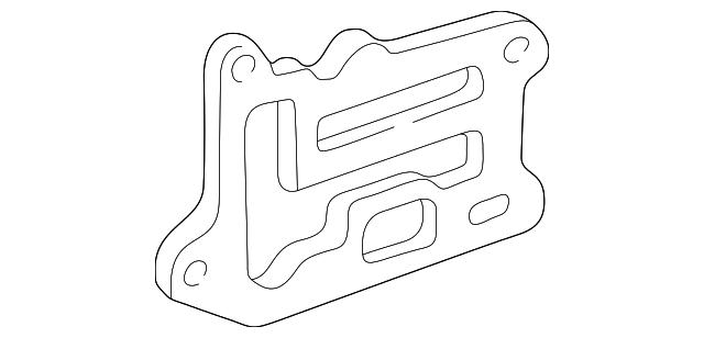 GMC Sonoma Chevy S10 Water Pump Gasket 10101275