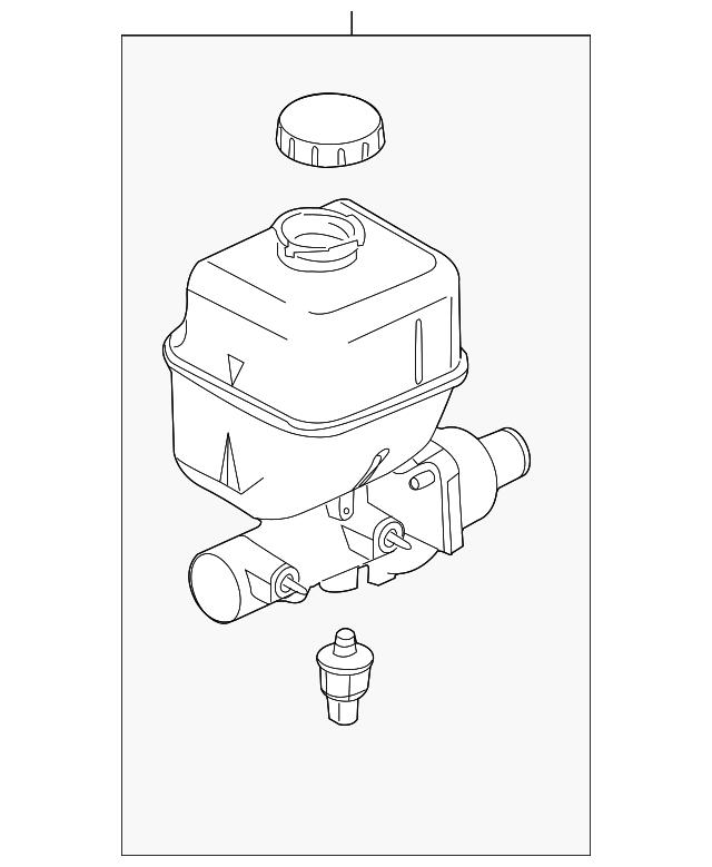 Ford F 250350450550 Super Duty Master Cylinder