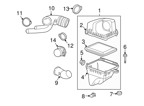 2008 Chevy Equinox Camshaft Sensor