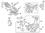 Element Assembly, A/C - Honda (17220-RCJ-505)