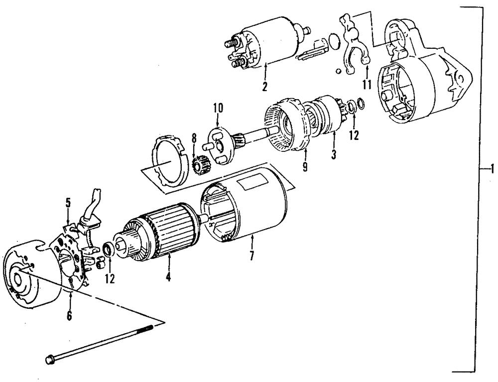 Genuine GM Rear Bearing 96065348: GM Motor And Transaxle Diagram At Scrins.org