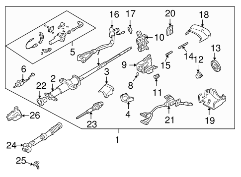 Oem 1997 GMC Jimmy Steering Column Assembly Parts Gmpartsonline. Steeringsteering Column Assembly For 1997 GMC Jimmy 1. GM. 1997 GMC Sonoma Steering Column Diagram At Scoala.co