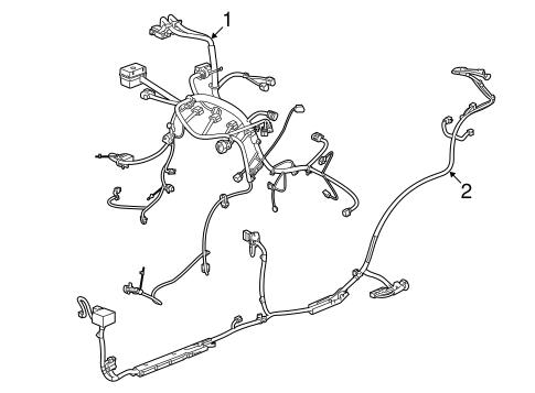 oem 2012 chevrolet captiva sport wiring harness parts gmpartsonline net