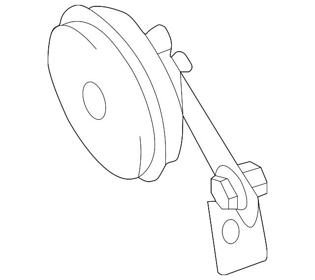 Genuine Nissan Alarm Horn 25605 3nf0a