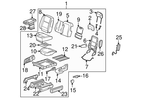 2006 Buick Terraza Engine Diagram