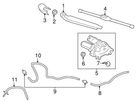 Elantra Gt Bodywiper Washer Components Parts